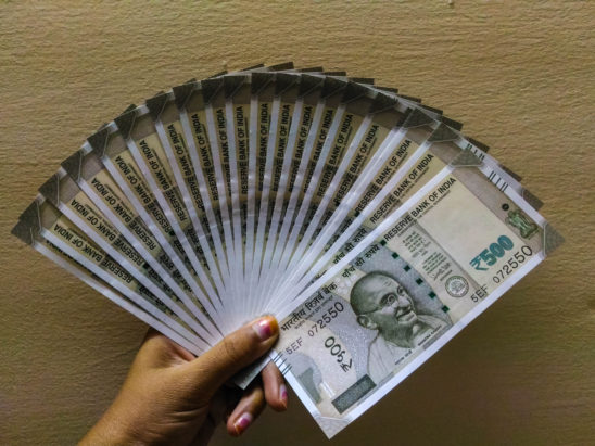 500 rs notes - indian currency