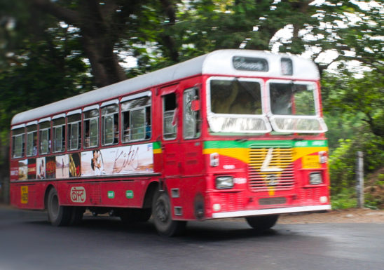 Indian city bus