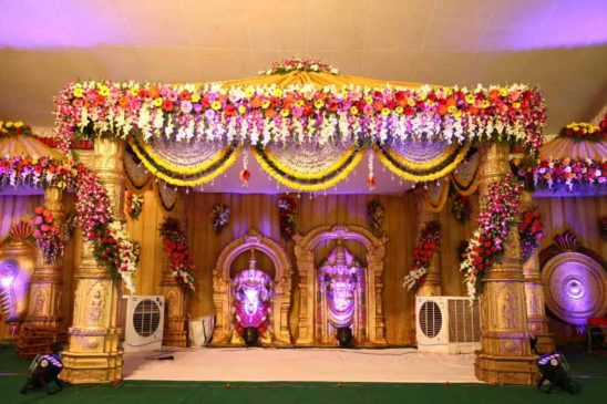 Marriage dias - Decoration