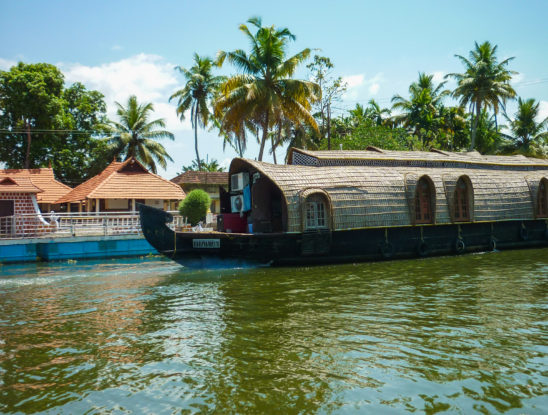 Boat house - Kerala - Honeymoon spot