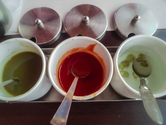 Chutney Types Served in Hotels