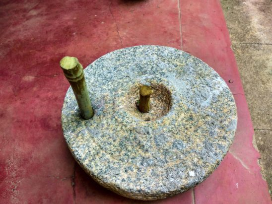 ndian household implements for grinding grin and millets 1