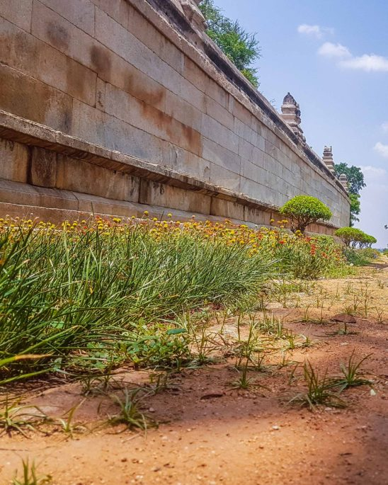 Outside Lepakshi Temple