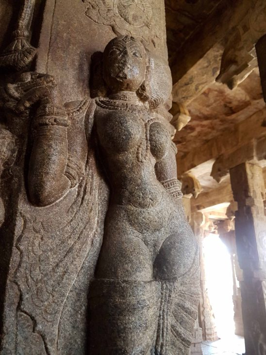Stone carved Sculpture in Lepakshi