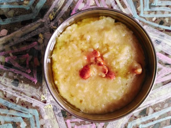 sweet pongal for prasadam