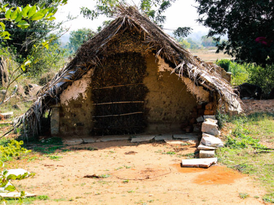 Old Village Hut