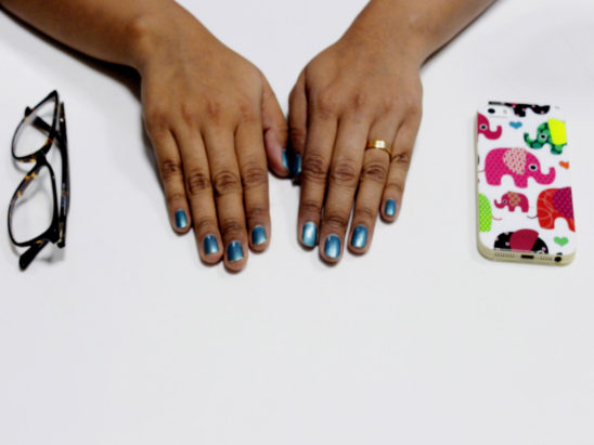 Finger spectacle and mobile cover