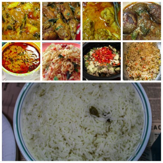 rice and its receipes