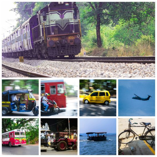 Collage of Transport System