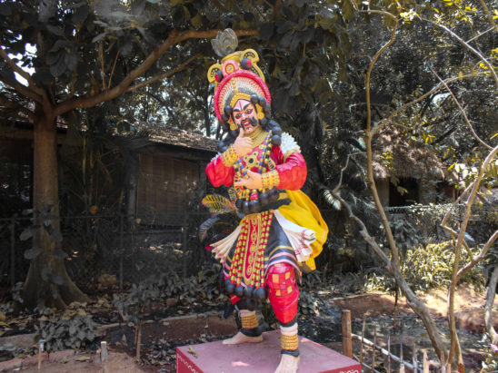yaksha gana dancer