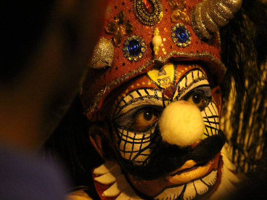 Yakshagana Dancer Face