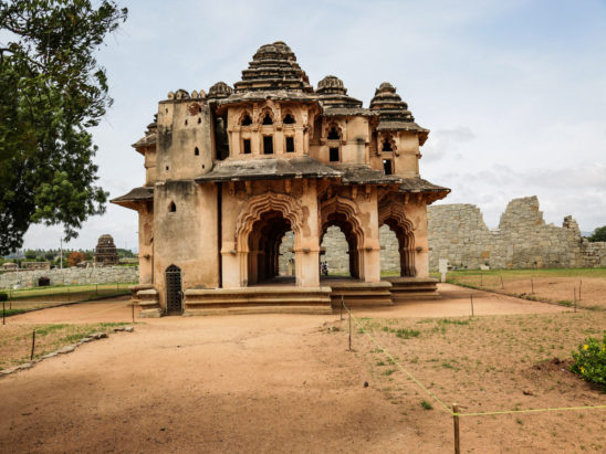 Lotus Mahal Monument Hampi