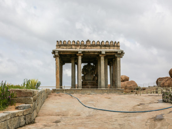 Ganesh Temple in Hampi
