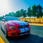 Ford Mustang Car on Road