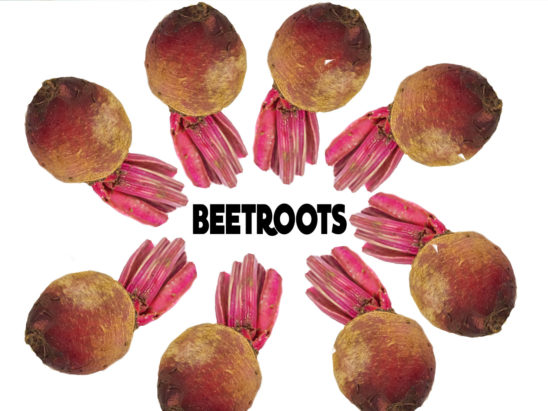 beetroots pile
