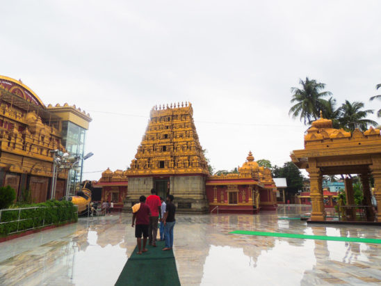 People Visiting mangalore kudroli temple
