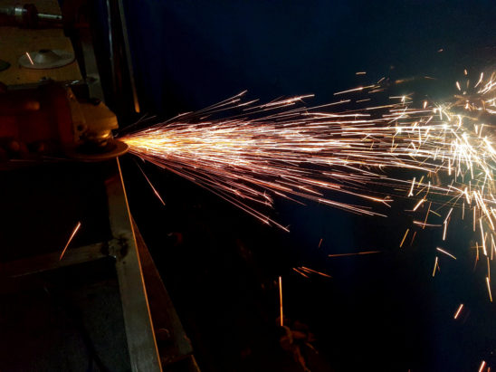 Grinding Flares
