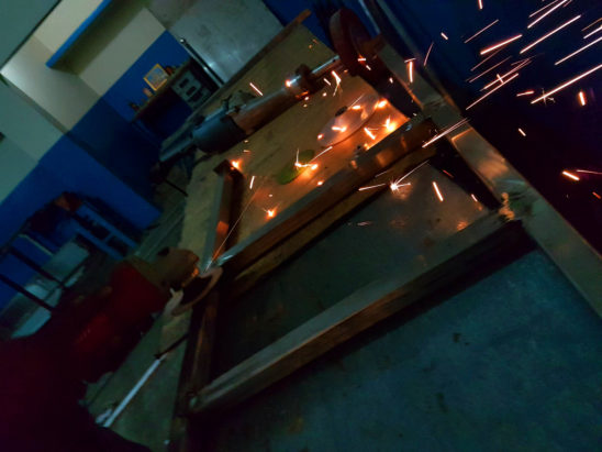 welding flames and flares