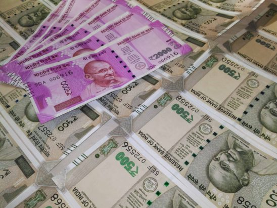 2000 rs 500 rs indian new notes collection