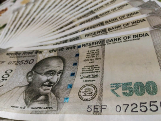 500 Rs Indian New Currency Note