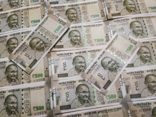 500 rs notes - indian