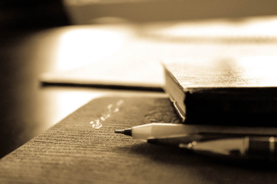 Book and pen - Background