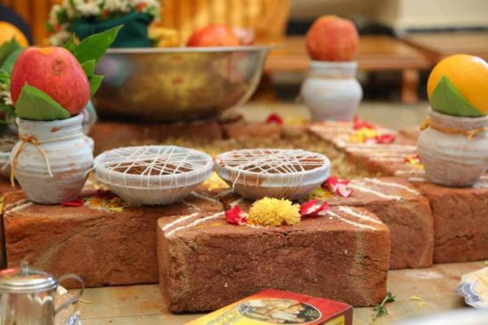 Marriage homa- Tradition