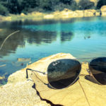 Sun glasses - Lake view