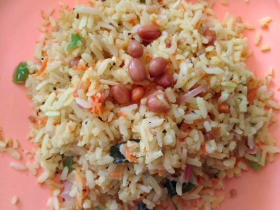 home made rice