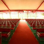 marriage seating area