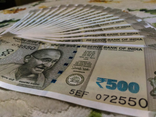 Indian new 500 Rupees ( RS) Currency Note