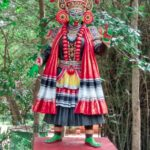 traditional yakshagana dancer