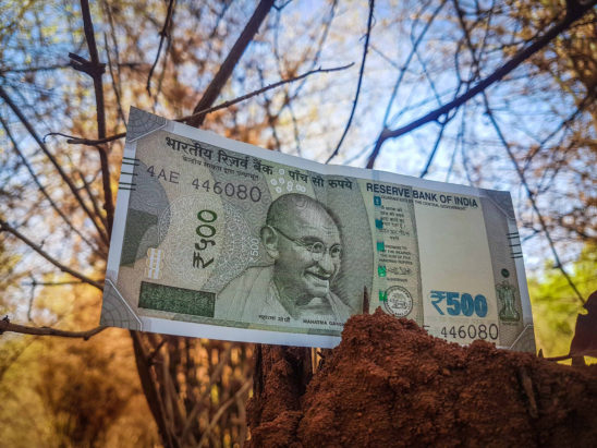 500 Rupee New Note