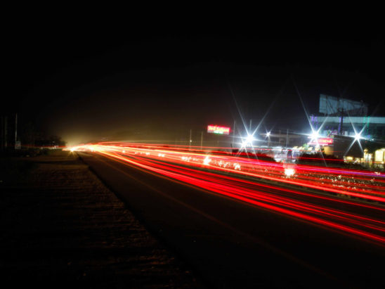 High way lights