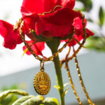 Jewellery Photography on Rose Flower
