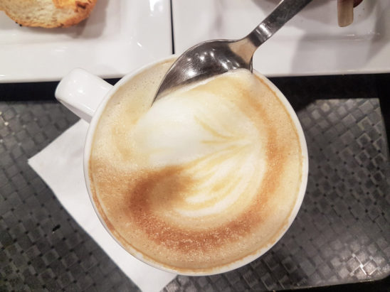cappuccino coffee ready to drink