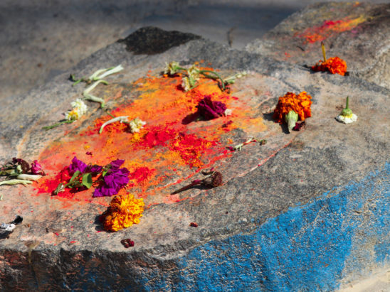 Footprints of God in Temple