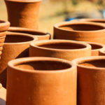 handmade clay cooking ware