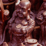 Laughing buddha idol