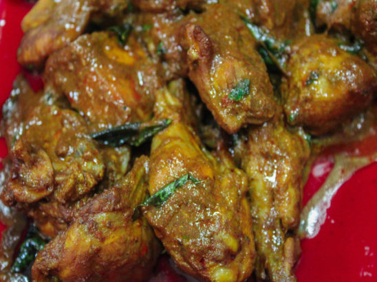 non veg food -chicken