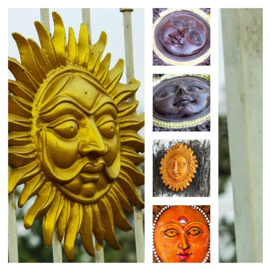 sun sign collage