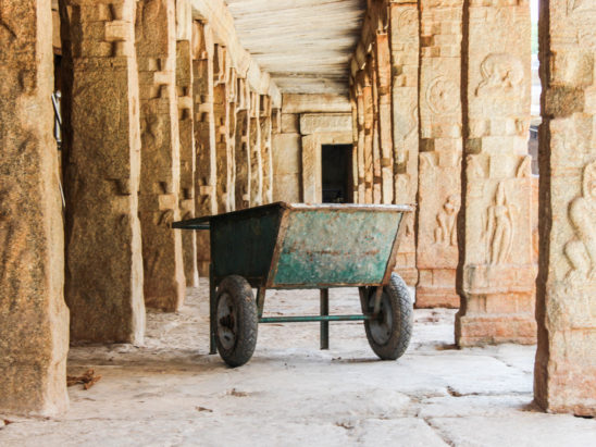 trolly used in temples