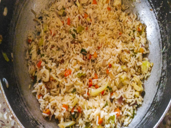 Home Made Veg Pulao