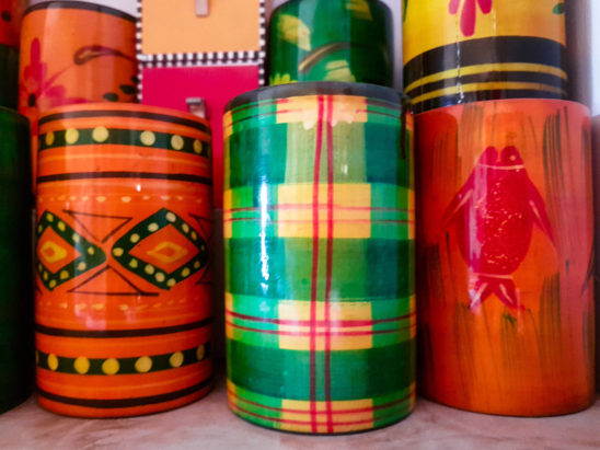 Chennapatna Wooden Pen Stands