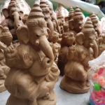 Clay Ganesh Idol