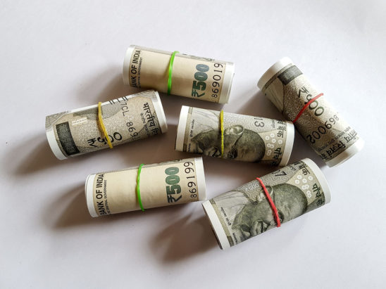 Indian Currency 500 Rs