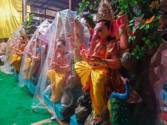 Making of Ganesha Idols