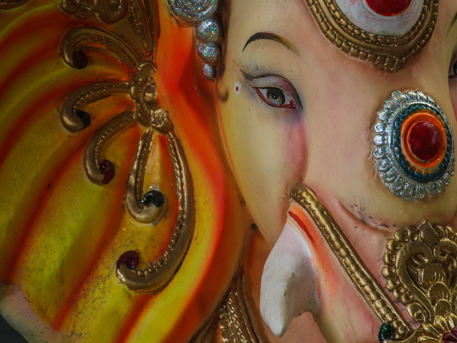 Ganesh Idol Face