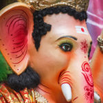 Eyes of Lord Ganesh Idol
