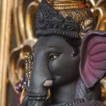 Black Ganesh Idol
